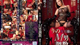 AVSA-101 Queen Rino's Breaking In Of Masochistic Men – Rino Kirishima